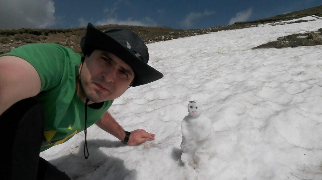Florin Burgui & 1 Day Trip - Snow Man in the Bucegi Summer